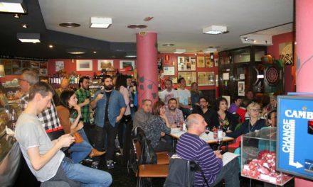 Cata coloquio en el Bar El Fútbol (jueves, 9)