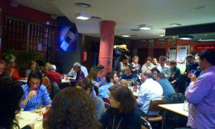 Cata maridada grandes garnachas de Aragón en el Bar El Fútbol (miércoles, 22)