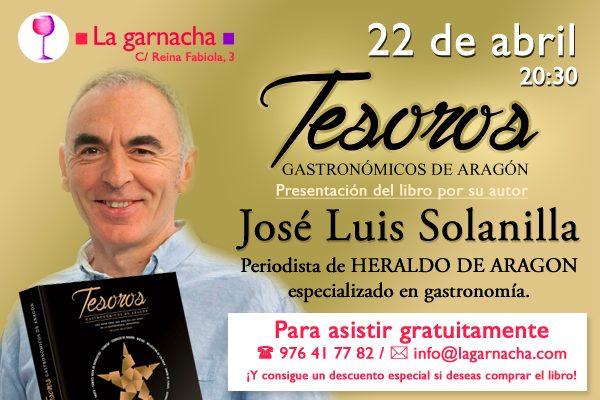 Presentación de libro en La Garnacha (miércoles, 22 de abril)