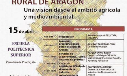 HUESCA. Jornada de desarrollo rural (miércoles, 15)