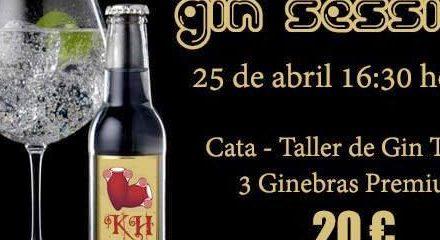 Curso taller de gin-tonics (sábado, 25)