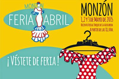 MONZÓN. Feria del abril (del 1 al 3 de mayo)