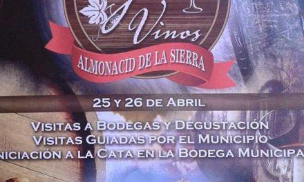 ALMONACID DE LA SIERRA. Muestra de bodegas (días 25 y 26)