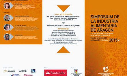Simposium de la Industria Alimentaria de Aragón (martes, 5 de mayo)