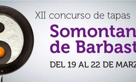 Vuelve el concurso de tapas de Somontano (del 10 al 12)