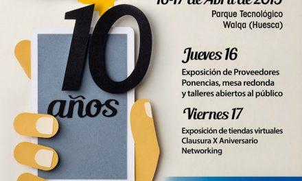 HUESCA X Feria de Tiendas Virtuales (Jueves, 16 y viernes, 17)