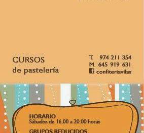 HUESCA. Curso de pastelería (sábado, 25)