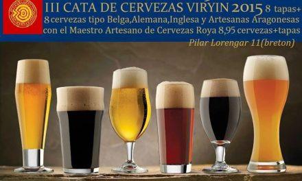 Cata de cervezas (jueves, 30)