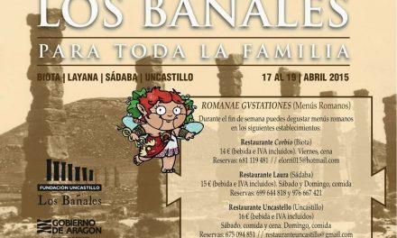 I Fin de Semana Romano en Los Bañales (Viernes, 17 al domingo, 19)