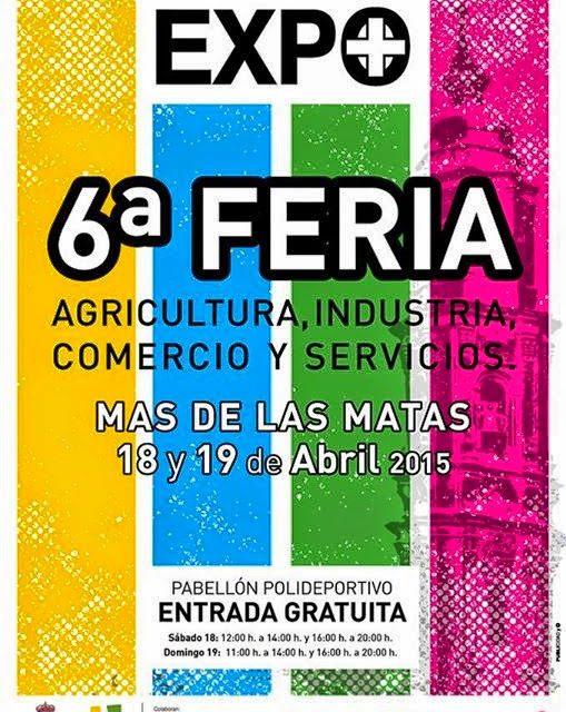 Expomas. VII Feria general de Mas de las Matas. (Sábado, 18 y domingo, 19)