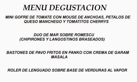 Menú de san Jorge (jueves, 23)