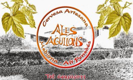 Cata de cervezas artesanas de Ales Agullons (miércoles, 22)