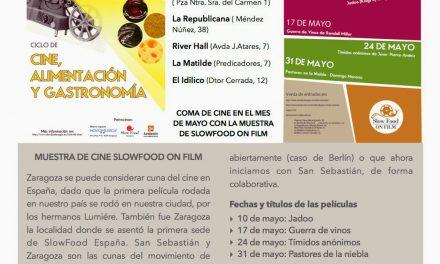 Slow Food on film, Muestra de cine, alimento y gastronomía (domingos, del 10 al 31 de mayo)