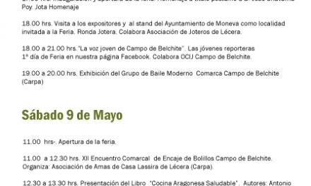 Expocampo de Belchite (días 9 y 10 de mayo)