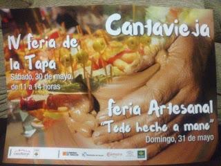 CANTAVIEJA. Feria de la tapa y feria artesanal (días 30 y 31)