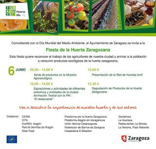 Fiesta de la huerta. El mercado agroecológico se traslada (sábado, 6)