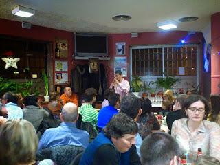 Cata maridada de garnachas en el Bar El Fútbol (sábado, 23)
