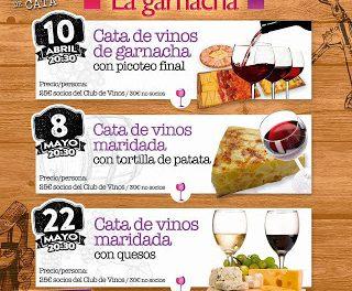 Cata de vinos maridada con quesos en LA GARNACHA (viernes, 22 de mayo)