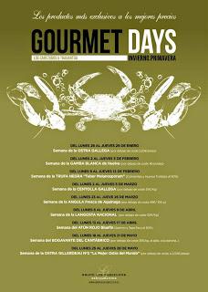 Gourmet Days con ostra en TRAGANTÚA y LOS CABEZUDOS (del 25 al 28)