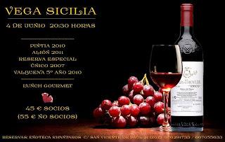 Cata de Vega Sicilia (jueves, 4 de junio)