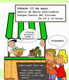HUESCA. Mercado agroecológico (sábado, 23)