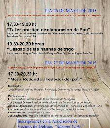 Jornadas del pan en Delicias (días 26 y 27)
