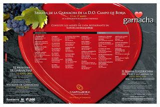 Semana gastronómica de la Garnacha (del 11 al 17 de mayo)