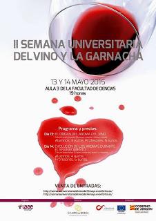 II Semana Universitaria del vino y la garnacha (días 13 y 14)