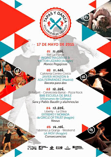VILLANUEVA DE GÁLLEGO. Tapas y danza (domingo, 17)