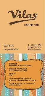 HUESCA. Curso de pastelería (sábado, 23)