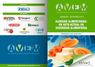 Jornada sobre alergias alimentarias (jueves, 2)