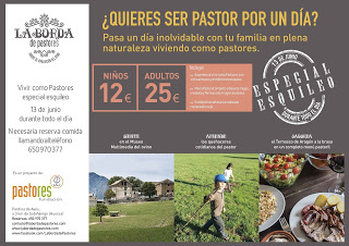 AYÉS. Jornada Vivir como Pastores especial esquileo (sábado, 13)