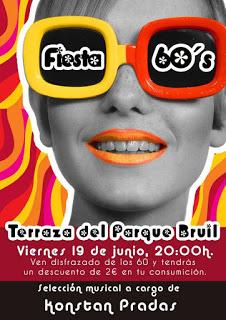Fiesta sesentera en la terraza del Parque Bruil (viernes, 19)