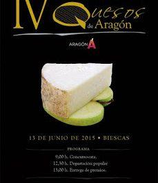 BIESCAS. Cata concurso de quesos de Aragón (sábado, 13)