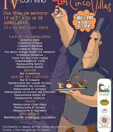 CINCO VILLAS. Concurso de tapas (del 19 al 21 y del 26 al 28)