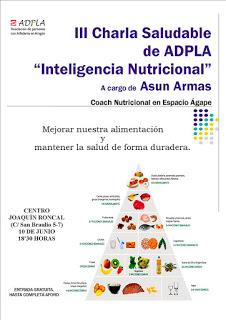 Charla Inteligencia nutricional (miércoles, 10)