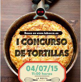 La Bocca organiza su primer concurso de tortillas de patata (sábado, 4)