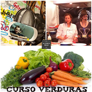 Curso de cocina de verduras en GAMBERRO (martes, 23)