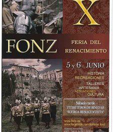 FONZ. Feria del renacimiento (días 6 y 7)