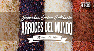 Jornadas de Cocina Solidaria (viernes, 3)