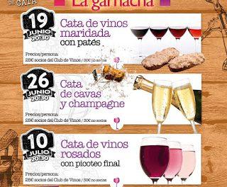 Cata de vinos maridada con patés (viernes, 19 de junio)