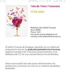 Presentación de vinos de Burdeos (jueves, 17)