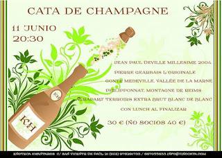 Cata de champagnes (jueves, 11)