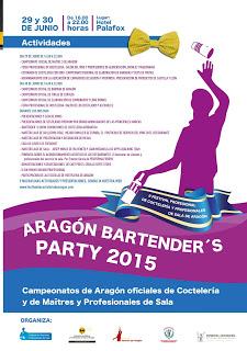 I Festival profesional de coctelería y profesionales de sala (lunes y martes, 29 y 30)