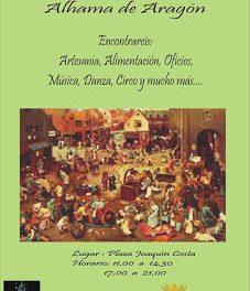 ALHAMA DE ARAGÓN. Mercado medieval (sábado, 13)