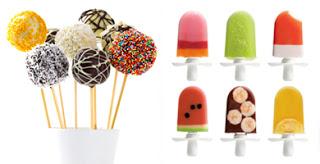 Taller de popcakes y helados para niños (lunes, 29)