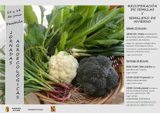 PERALTILLA. Jornadas agroecológicas (días 13 y 14)