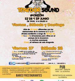 MONZÓN. Tenedor Sound (del 26 al 28)