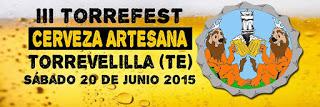 TORREVELILLA. III Muestra de cerveza artesana y ecológica (sábado, 20)