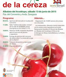 ALBALATE DEL ARZOBISPO. Feria de la cereza (sábado, 13)